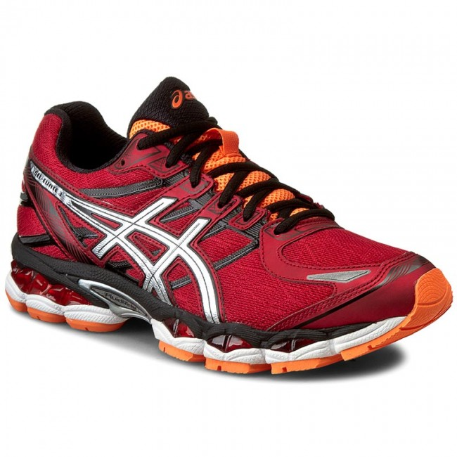 Chaussures ASICS Chaussures Gel Evate 3 12580 T516N Racing Rouge/ Evate Argent/ Orange Chaud 2393 32fb5b5 - afilia.info