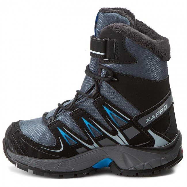 91758208 Hiking Boots SALOMON - Xa Pro 3D Winter Ts Cswp K 378428 04 M0 Grey  Denim/Black/Methyl Blue