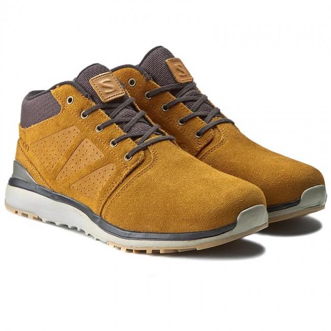 Boots Rawhide 381223 V0 SALOMON 26 Trekker Chukka Ts LtrAsphaltTitanium Wr Utility EH2I9D
