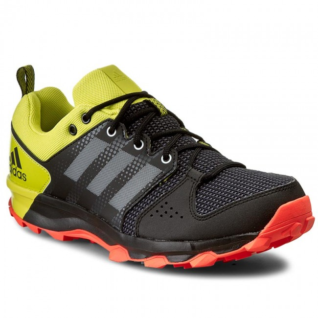 adidas galaxy trail black running shoes