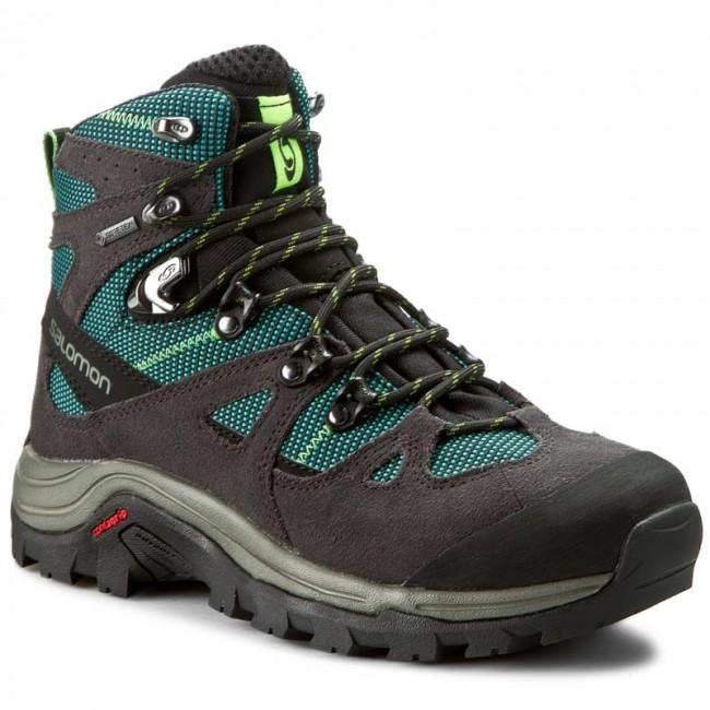 Trekker Boots SALOMON - Discovery W Gtx 390408 20 V0 Asphalt Veridian  Green Fresh 706d7d7645f