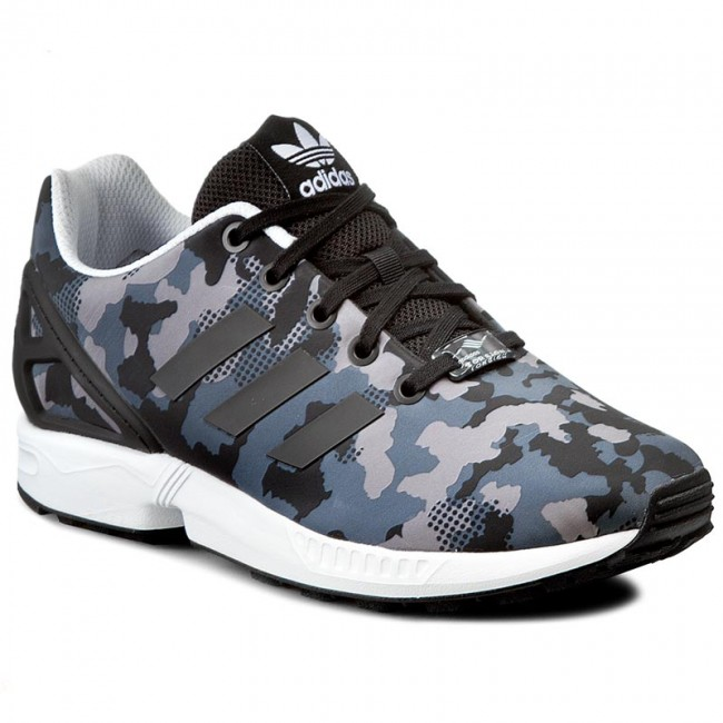 sports shoes bad85 45bee Shoes adidas - Zx Flux J S76284 CblackCblackFtwwht