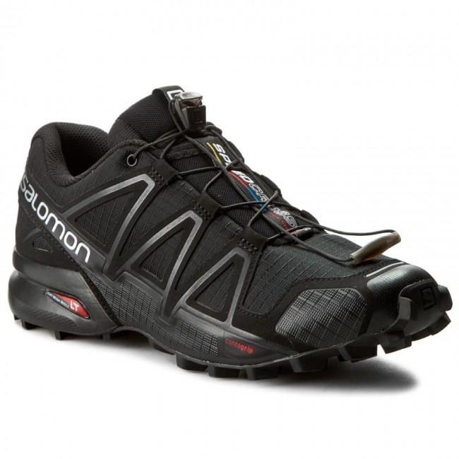 9843ec7c3f51 Shoes SALOMON - Speedcross 4 383130 26 V0 Black Black Black Metallic ...