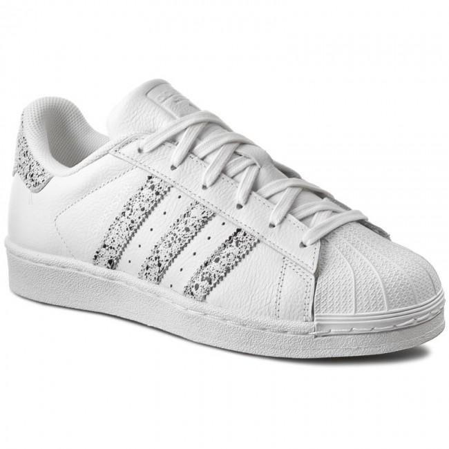 Shoes adidas - Superstar B42620 Ftwwht Ftwwht Crywht - Casual - Low ... 8b991b261de