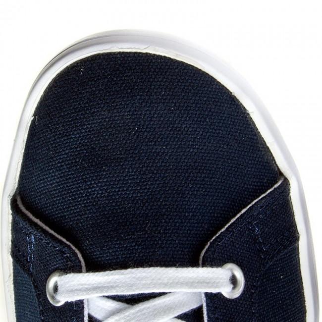 sports shoes abd5e b0a48 Shoes adidas - CourtVantage K S75096 ConavyFtwwhtConavy - Laced shoes -  Low shoes - Girl - Kids shoes - www.efootwear.eu