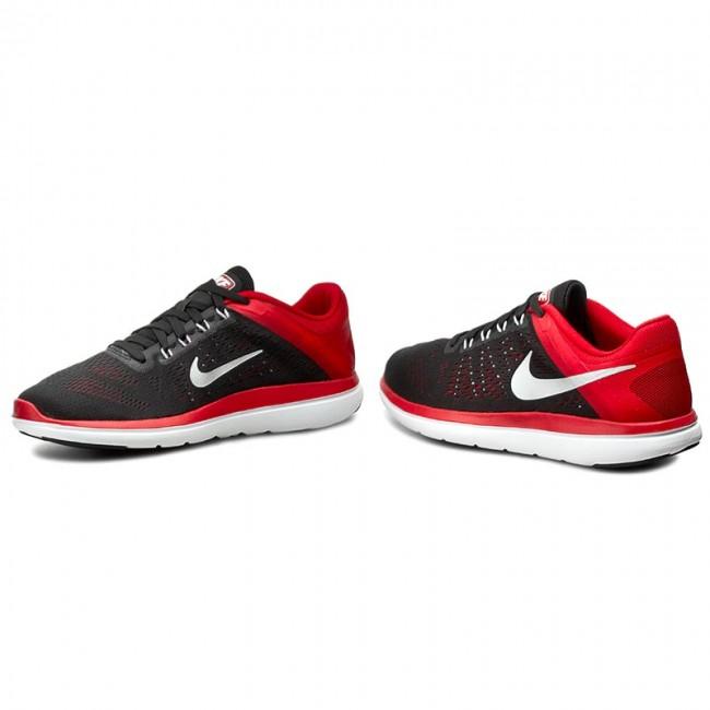 Shoes NIKE - Flex 2016 Rn 830369 006 Blk Mtllc Slvr Unvrsty Rd Whit ... 267494c5b