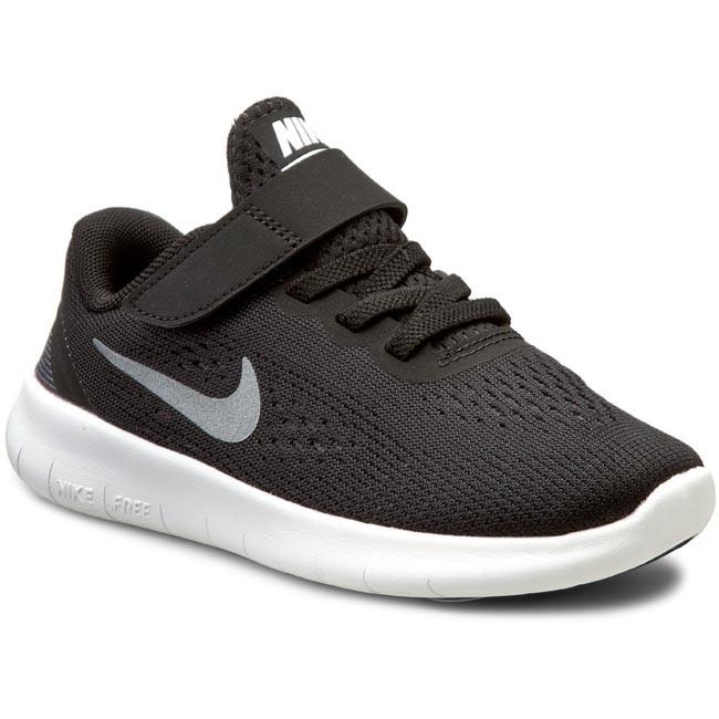 Shoes NIKE Free Rn (Psv) 833991 001 Black/Metallic/Silver/Anthrct