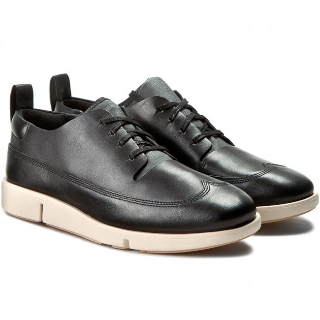 Tri Nia Black Shoes Low 261187934 Clarks Flats Leather TpnqaaFz5w