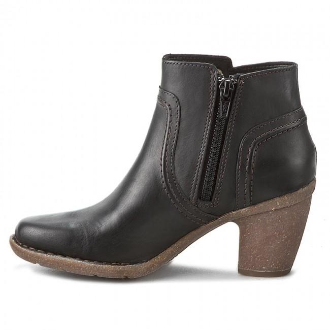 Stiefeletten CLARKS - Carleta Paris 261204004 Black Leather ePEEj