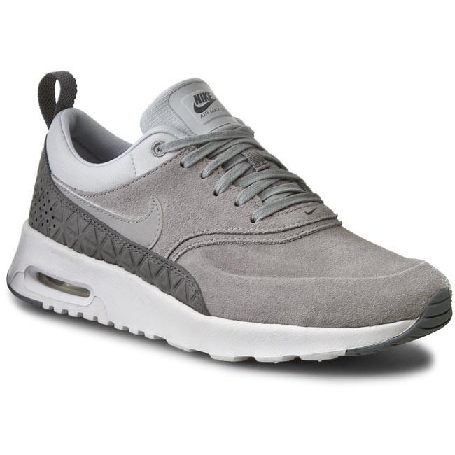 le scarpe nike air max w nike thea sonodiventate lth 845062 001 opaca silver / mtt