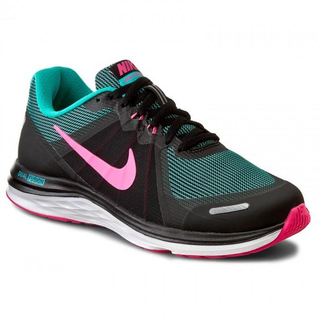 Shoes NIKE - Dual Fusion X 2 819318 010 Black/Pink Blast/Clr Jd