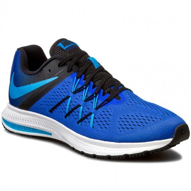 e2b974e4a7d5 Shoes NIKE - Zoom Winflo 3 831561 401 Racer Blue Blue Glow Blk White ...