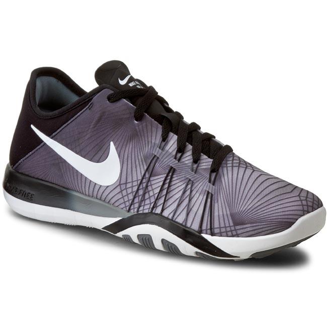 53a417ac4ce87 Shoes NIKE - Free Tr 6 Prt 833424 005 Black White Cool Grey ...