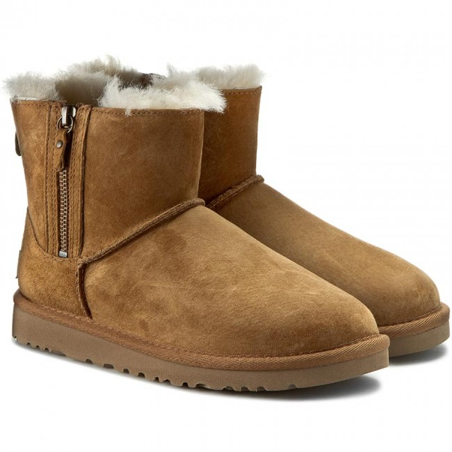 Shoes UGG W Classic Mini Double Zip 1009861 WChe