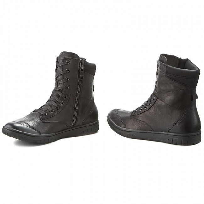 Diesel S-Boulevard Leather Ankle Boots BnvLR
