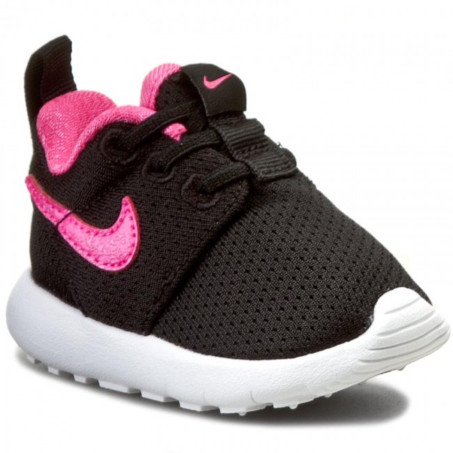 78ef1e0fb0e ... official shoes nike roshe one tdv 749425 014 black pink blast white  8960d d9413