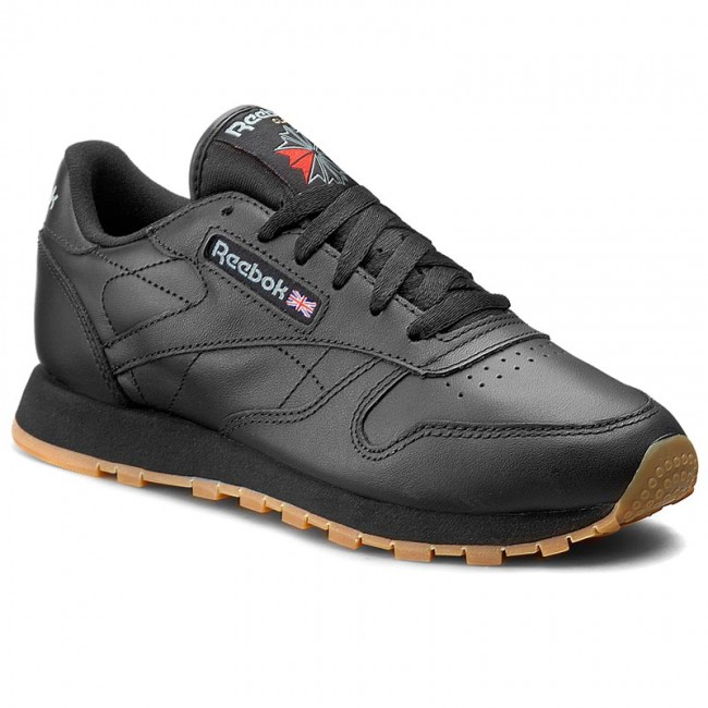 0204748ae54 Shoes Reebok - Cl Lthr 49804 Black Gum - Sneakers - Low shoes ...