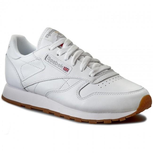857cc373270 Shoes Reebok - Cl Lthr 49803 White Gum - Sneakers - Low shoes ...