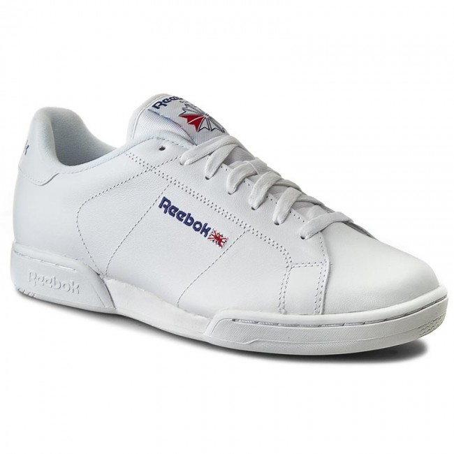 1924a6c55fd Shoes Reebok - Npc II 1354 White White - Casual - Low shoes - Men s ...