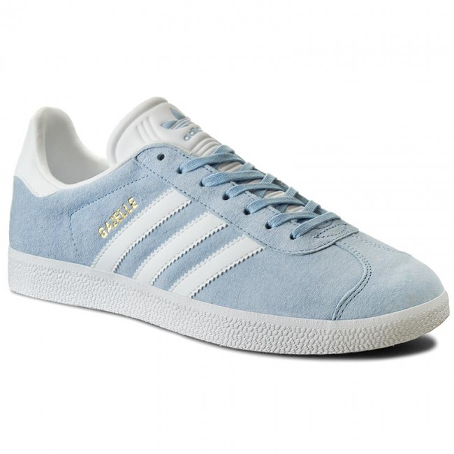 Shoes adidas - Gazelle BB5481 Clesky White Goldmt - Sneakers - Low ... 6ea6332feb49