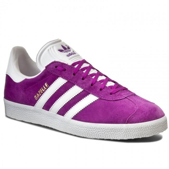 Shoes adidas - Gazelle BB5484 Shopur White Goldmt - Sneakers - Low ... be245daa5ff49