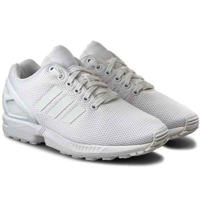 podgląd konkretna oferta kup tanio Shoes adidas - Zx Flux S32277 Ftwwht/Ftwwht/Clgrey