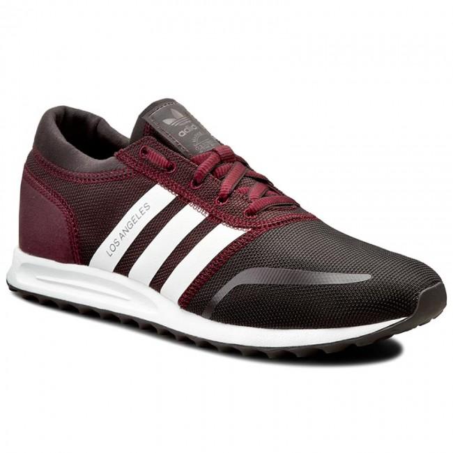 scarpe adidas, los angeles s75995 bordeaux / ftwwht / bordeaux.