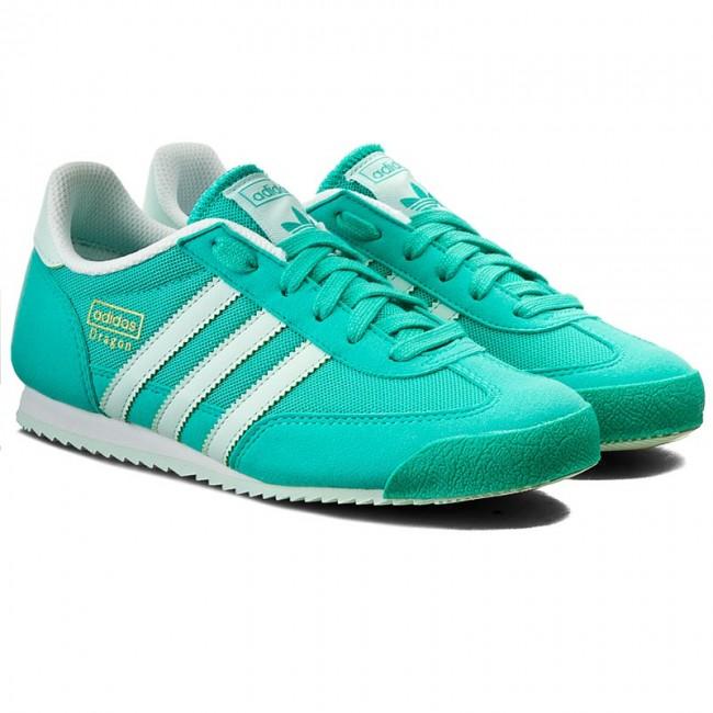 Desviación triatlón Conveniente  Shoes adidas - Dragon J S79873 Shkmin/Icemin/Ftwwht - Sneakers - Low shoes  - Women's shoes | efootwear.eu
