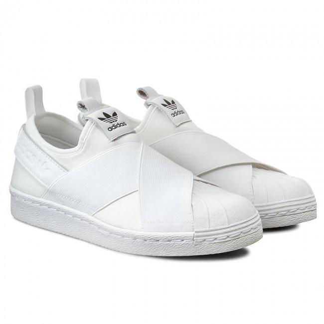 Adidas Superstar Slipper W whiteweiss s81338 Damen Sneaker