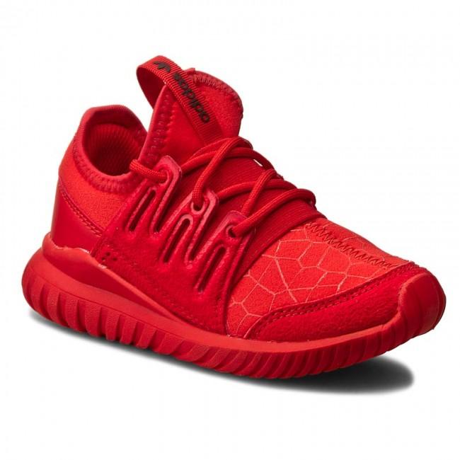 scarpe adidas tubulare radiale c s81923 rosso / rosso / cblack corretto le scarpe