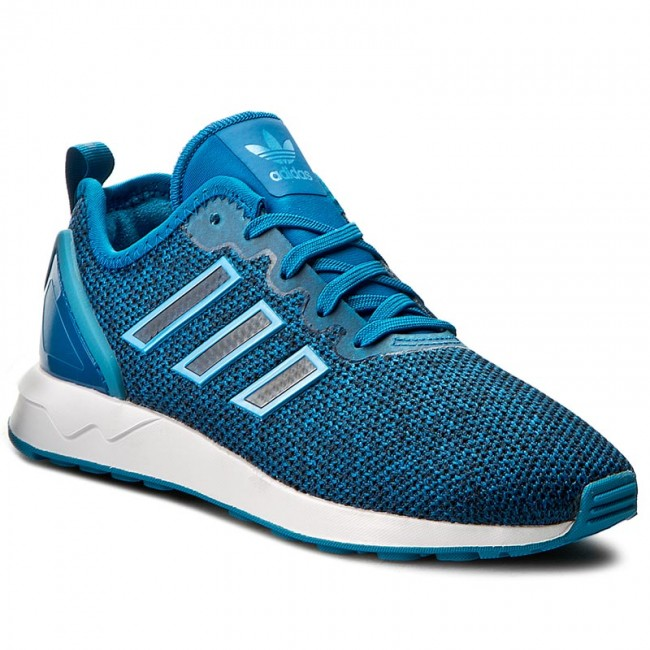 4be81471a668e Shoes adidas - Zx Flux Adv J S81926 Uniblu Crablu Ftwwht - Sneakers ...