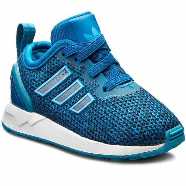 c846091f8 Shoes adidas - Zx Flux Adv El I S81930 Uniblu Crablu Ftwwht - Laced ...