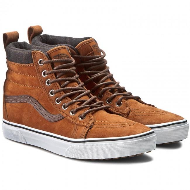 15e313fc22 Sneakers VANS - Sk8-Hi MTE VN000XH4JUE (MTE) Glazed Ginger Plaid - Casual -  Low shoes - Men s shoes - www.efootwear.eu