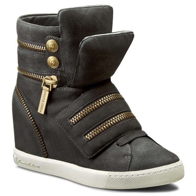eb2b036417e Sneakers PIERRE BALMAIN - SF506 S26 805 Grey - Wedge-heeled shoes ...