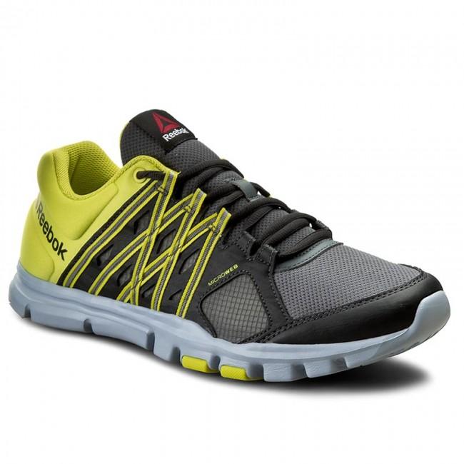 d93bfc7f9ab2 Shoes Reebok - Yourflex Train 8.0 AR3222 Alloy Coal Ylw Grey ...