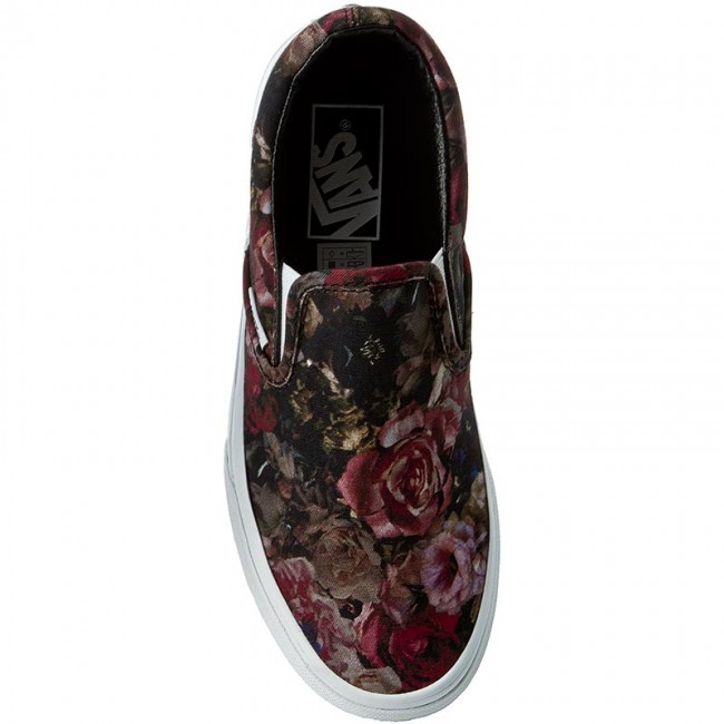 06579bfabe Plimsolls VANS - Classic Slip-On VN0004MPJOU (Moody Floral) Black True -  Flats - Low shoes - Women s shoes - www.efootwear.eu