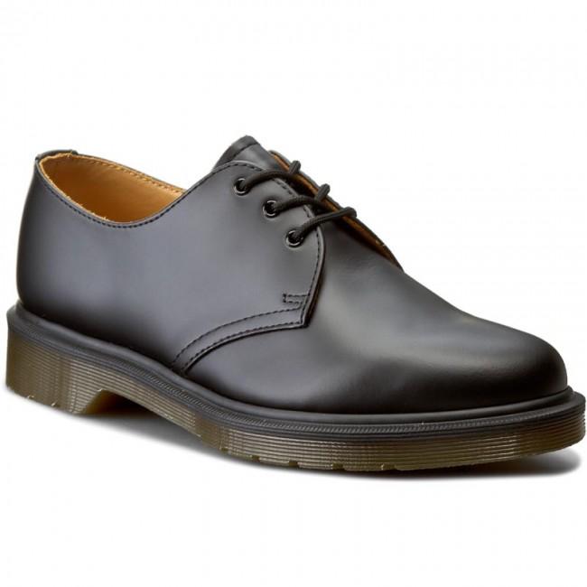 Shoes DR. MARTENS - 1461 Pw 10078001 Black - Flats - Low shoes ... 5201cb3db66