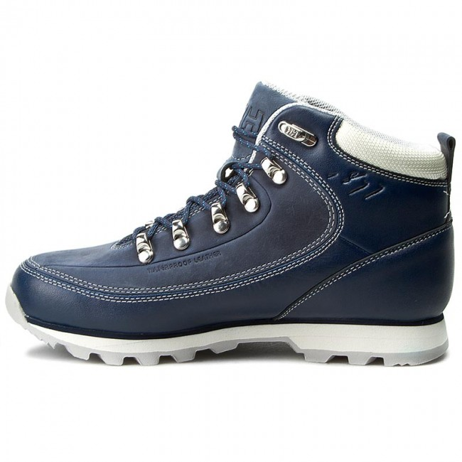 Trekker Boots HELLY HANSEN - The Forester 105-16.292 Deep Blue Off  White Light Grey Light Ocean - Trekker boots - High boots and others -  Women s shoes ... e21e338071