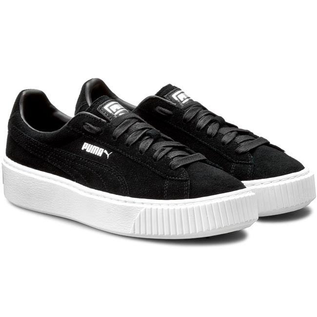 Sneakers PUMA - Suede Platform 362223 01 Puma Black Black Puma White -  Sneakers - Low shoes - Women s shoes - www.efootwear.eu 78a6d430a