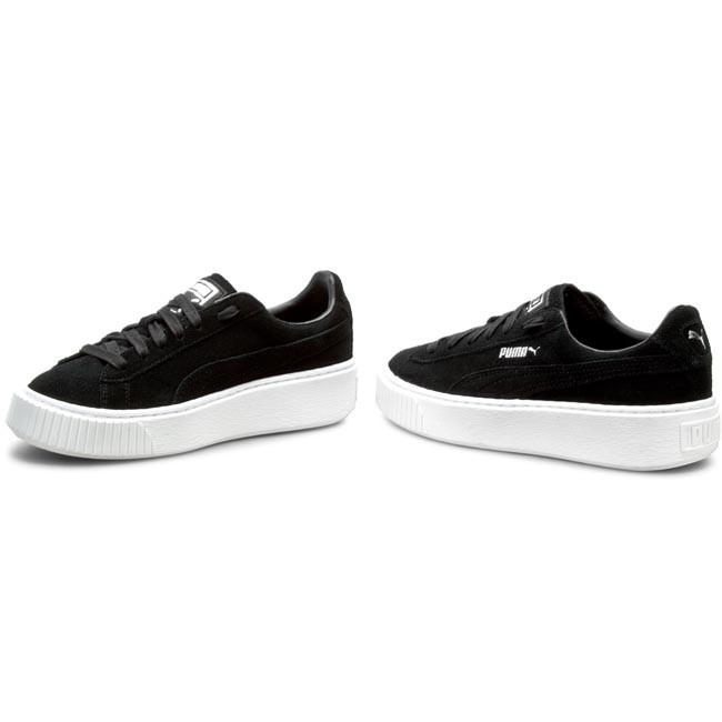 91b927e3d0f8 Sneakers PUMA - Suede Platform 362223 01 Puma Black Black Puma White ...