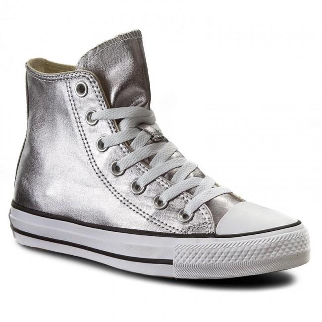 Sneakers CONVERSE - Ctas Hi 153177C Gunmetal/White/Black
