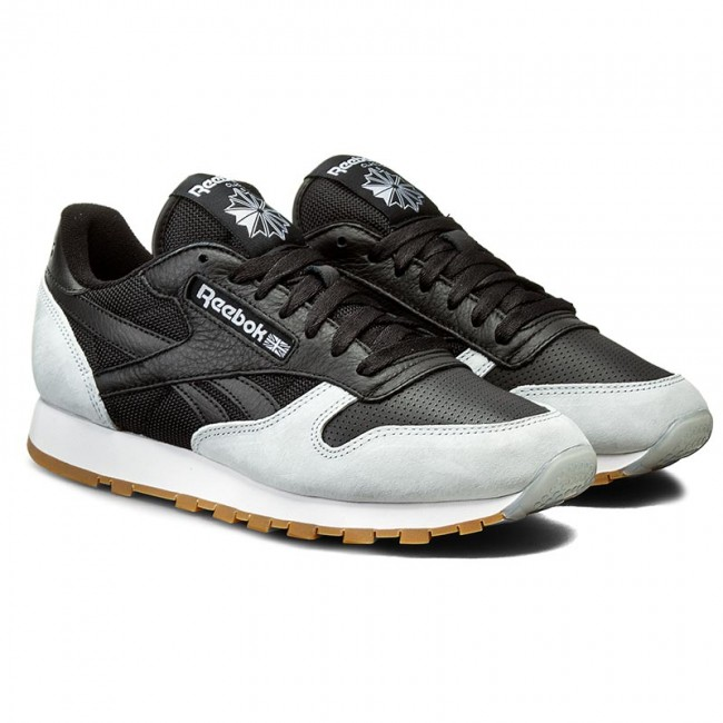 Reebok Classic Leather Spp – Black Cloud Grey Gum (mens)