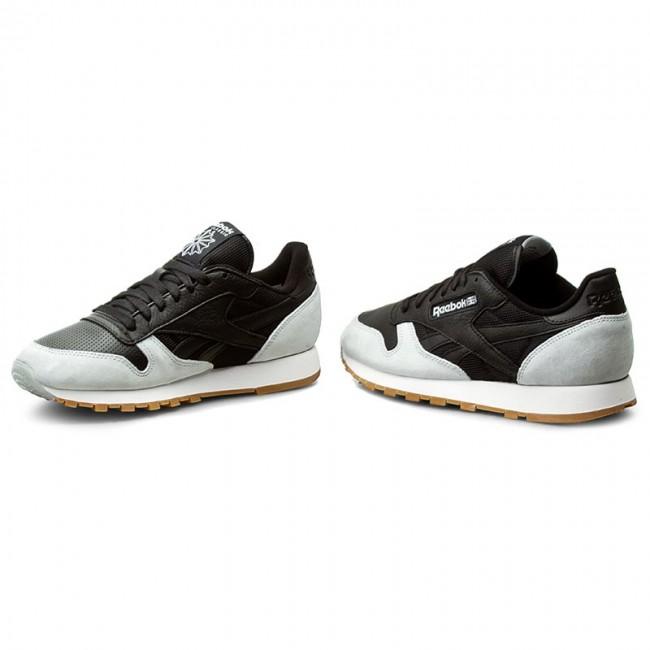 980048882928c Shoes Reebok - Cl Leather Spp AR1895 Black Cloud Grey Gum - Casual ...