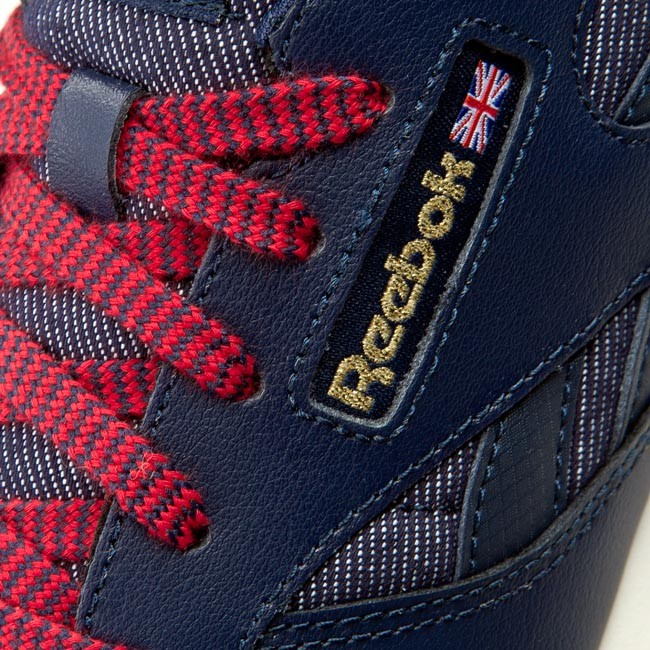 012c6126df4 Shoes Reebok - Cl Leather Dg AR2042 Navy Red Chalk Gum - Sneakers ...