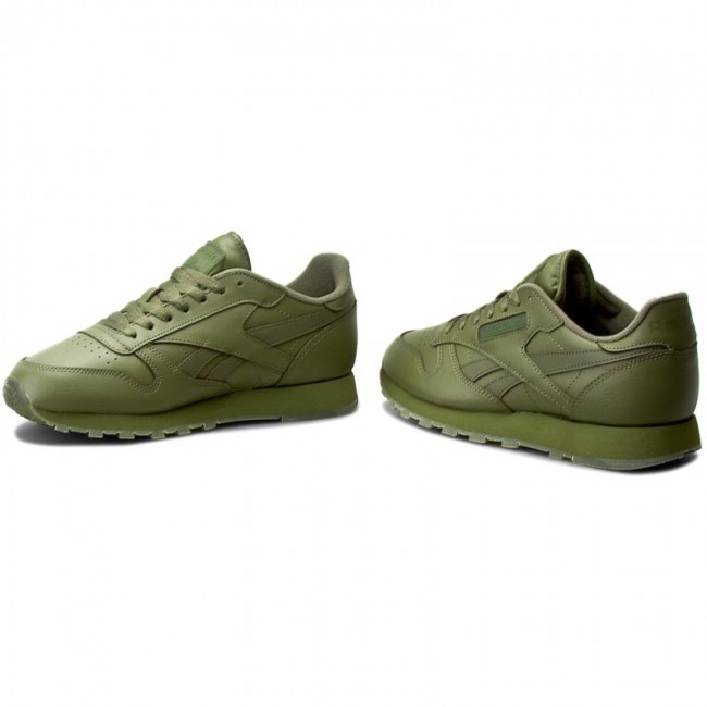 9f1dc814131 Shoes Reebok - Cl Leather Solids BD1322 Canopy Green - Sneakers ...