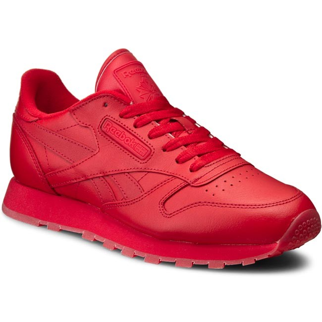 9d68247a4ef00 Shoes Reebok - Cl Leather Solids BD1323 Scarlet - Sneakers - Low ...