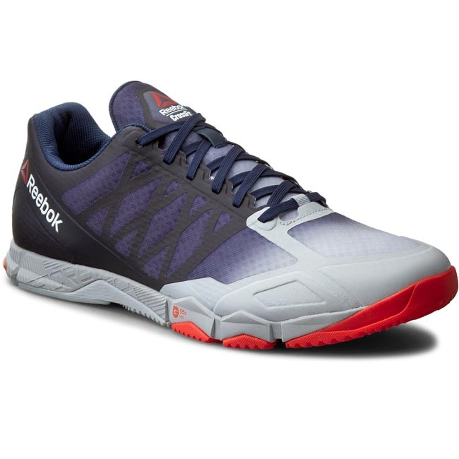 Reebok CXT TR - Sports shoes - blue/red/white/navy yxA8JS