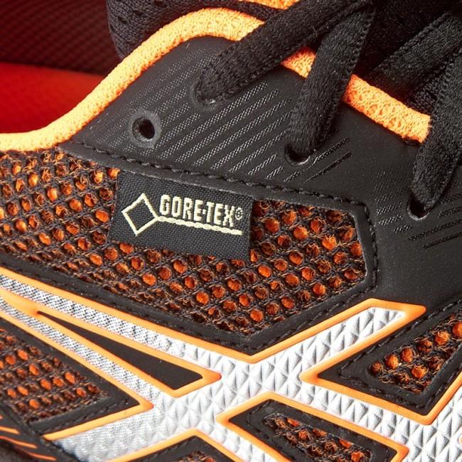 Shoes ASICS GT 1000 5 G TX T6B3N BlackSilverHot Orange 9093