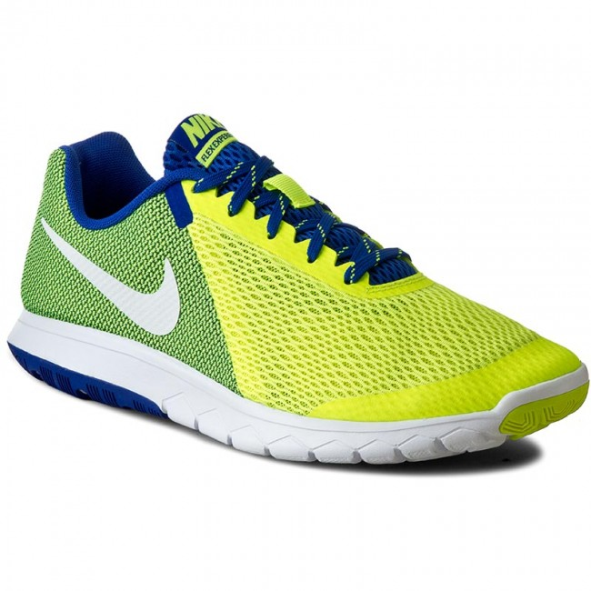 Shoes NIKE - Nike Flex Experience Rn 5 844514 700 Volt/White/Racer Blue