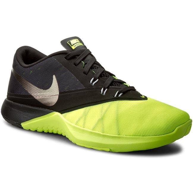Shoes NIKE - Fs Lite Trainer 4 844794 701 Volt Black Black Mtllc ... b6a72d2a536